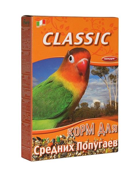 "Фиори Корм ""Classic"" для средних попугаев, 2 весовки,  Fiory"
