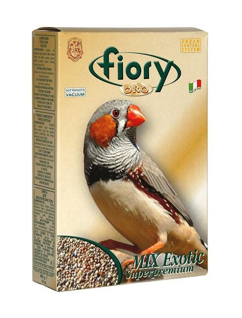 Фиори Корм ORO MIX Exotic для экзотических птиц, 400 г, Fiory
