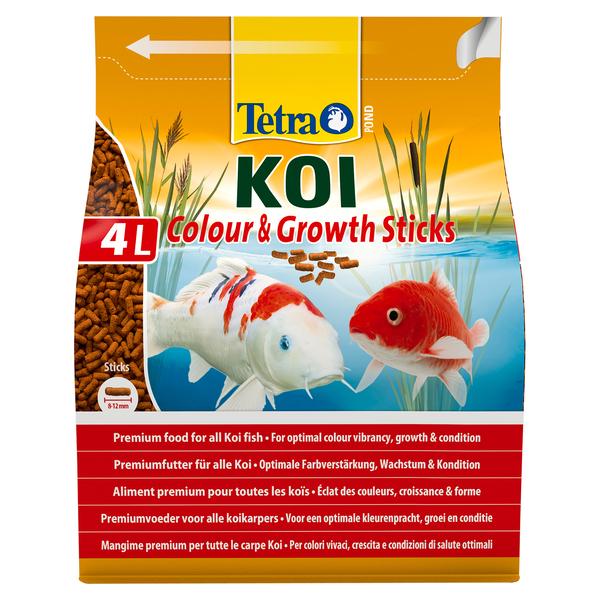 Тетра Корм Koi Sticks Energy энергетический для карпов кои, гранулы, 4 л, Tetra