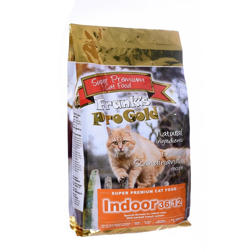 Франкс Про Голд Корм Indoor 36/12 для домашних и кастрированных кошек, в ассортименте, Frank's ProGold