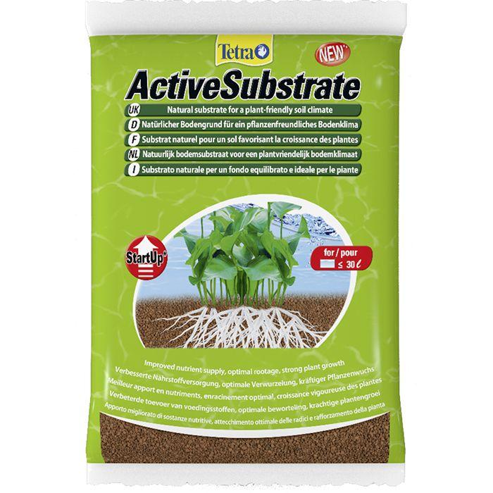 Тетра Грунт натуральный для растений Active Substrate, 2 объема, Tetra