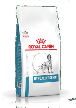 Корм Роял Канин VET Hypoallergenic DR21 Canine Диета для собак свыше 10 кг при пищевой аллергии или непереносимости, в ассортименте, Royal Canin