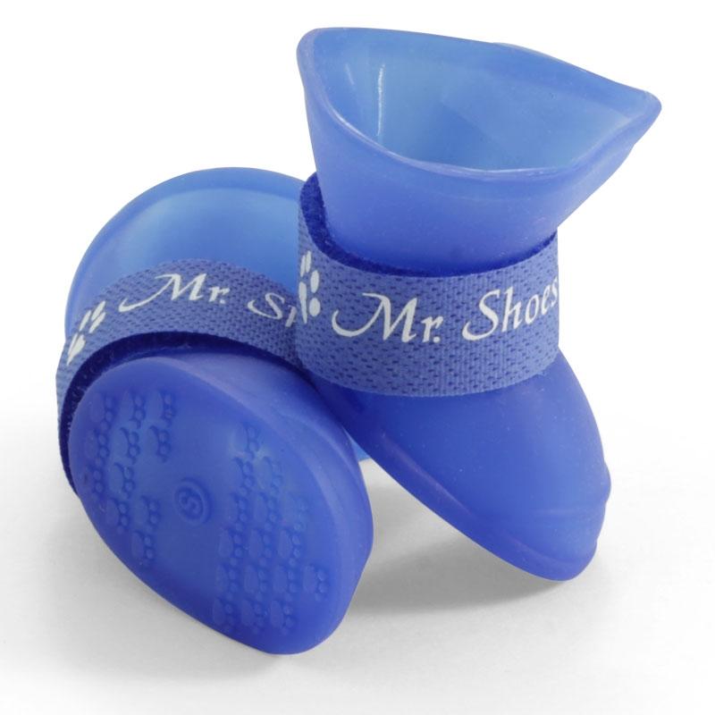 Триол Сапожки для собак, синие, пластичная резина, 3 размера, Triol