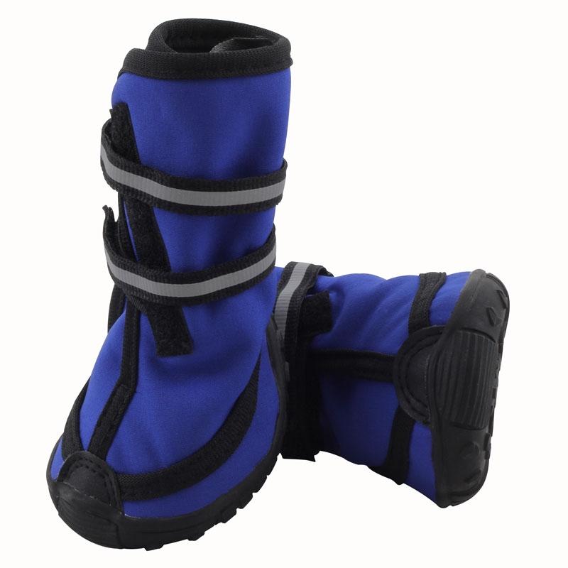 Триол Высокие ботинки для собак 137YXS с резиновой подошвой, 6 размеров, Triol