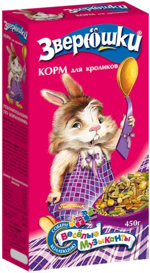 Зоомир Корм Зверюшки для кроликов, 15 кг