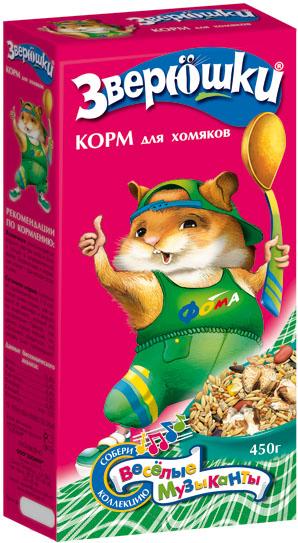 Зоомир Корм для хомяков Зверюшки, 15 кг