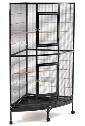 Триол Клетка-вольер для птиц, грызунов, хорьков SY-B11, 100*64*159 см, в ассортименте, Triol