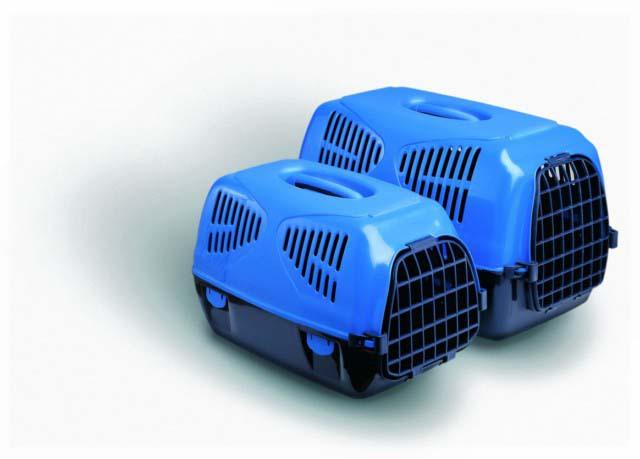 Переноска Sirio Little с пластиковой решеткой, 50*33,5*31 см, цвета в ассортименте, MPS