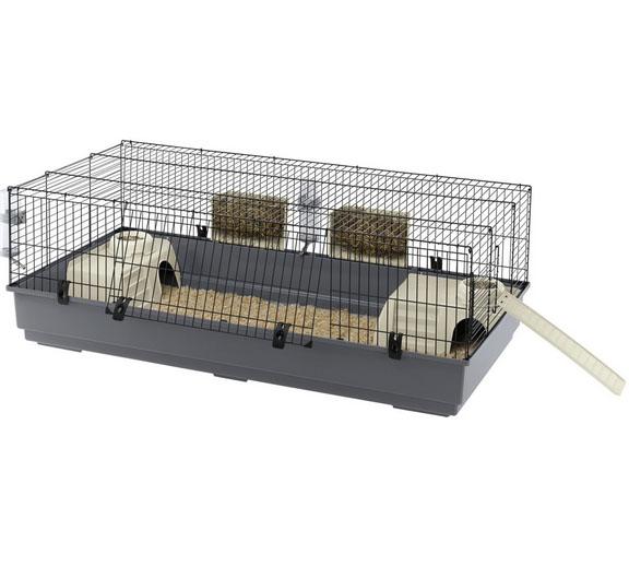 Ферпласт Клетка Rabbit 140 для кроликов, морских свинок, ежей, 140*71*51 см, Ferplast