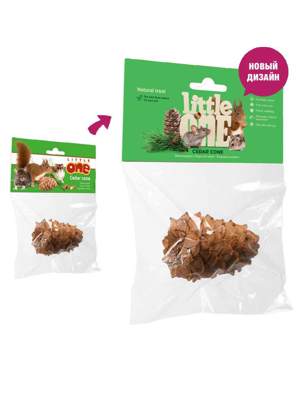 Литтл Уан Лакомство-игрушка Кедровая шишка, 1 штука, Little One