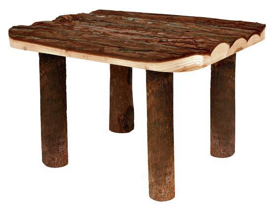 Трикси Площадка-помост деревянная, серия Natural Living, 30*22*25 см, Trixie