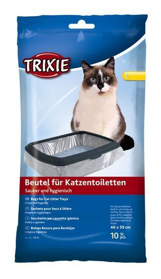 Трикси Пакеты уборочные для кошачьих туалетов, размеры в ассортименте, 10 шт, Trixie