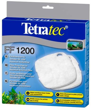 Тетра Губка из синтепона для внешних фильтров Tetra EX 400/600/700/800/1200 Plus, 2 шт./уп., Tetra