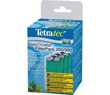 Тетра Картриджи фильтрующие без угля для внутренних фильтров EasyCrystal 250/300/600, 3 шт/уп, Tetra
