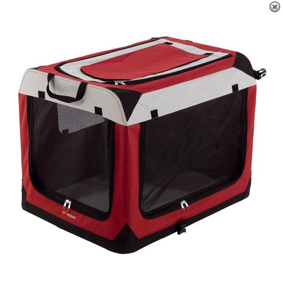 Ферпласт Дом-тент Holiday для животных, в ассортименте, красный, нейлон, Ferplast