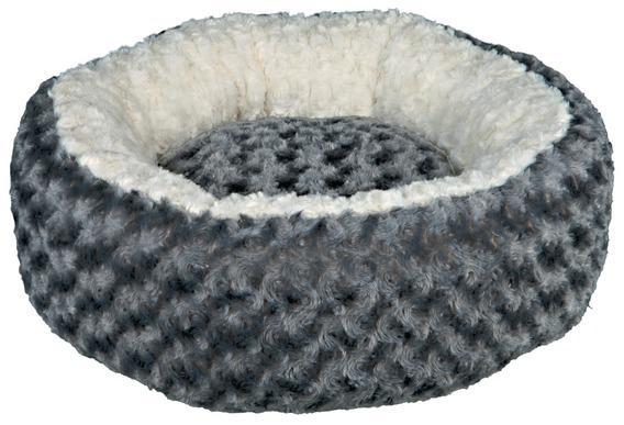Трикси Лежак-софа круглый с бортиками Kaline серый, в ассортименте, Trixie