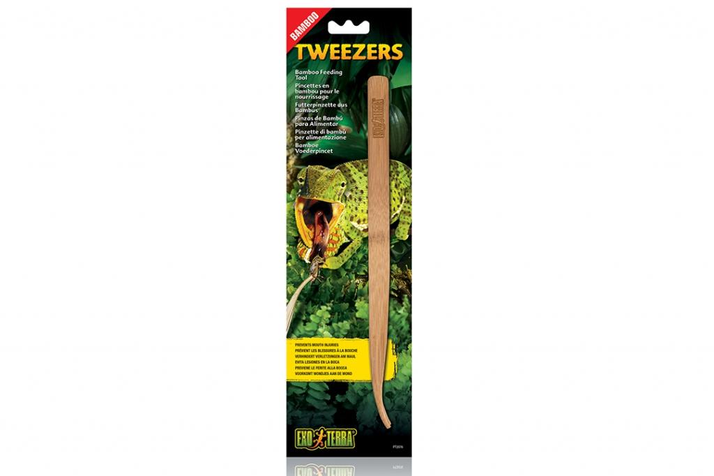 Экзо Терра Бамбуковый пинцет (щипцы) для кормления рептилий и амфибий Bamboo Feeding Tweezers, Exo Terra