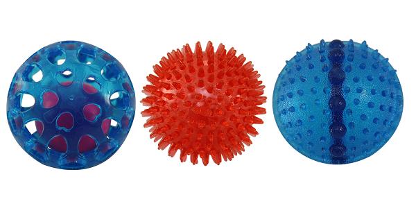 Триол Игрушка для собак Мяч из термопластичной резины, в ассортименте, Triol
