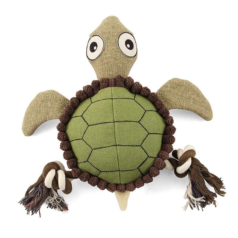 """Триол Игрушка """"Черепаха"""" мягкая для собак, 24*22*6 см, Triol"""