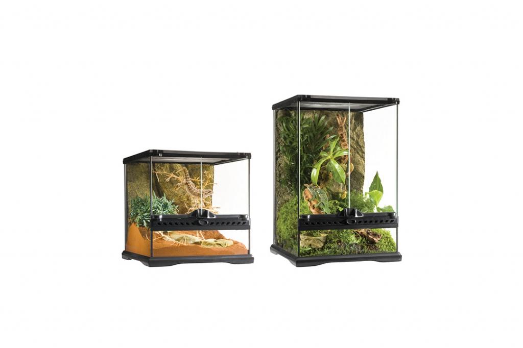 Экзо Терра Террариум стеклянный Natural Terrarium серия Mini, в ассортименте, Exo Terra