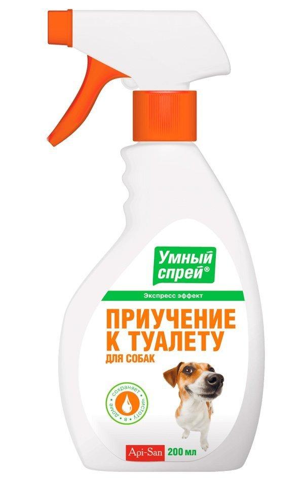 Апи-Сан Умный спрей Приучение к туалету для собак, 200 мл, Api-San