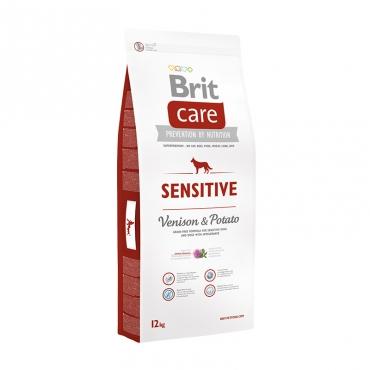 Корм Брит Care Dog Sensitive Гипоаллергенный корм для собак всех пород, Оленина/картофель, в ассортименте, Brit