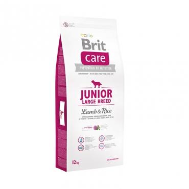 Корм Брит Care Junior Large Breed для щенков крупных пород, Ягненок с рисом, в ассортименте, Brit