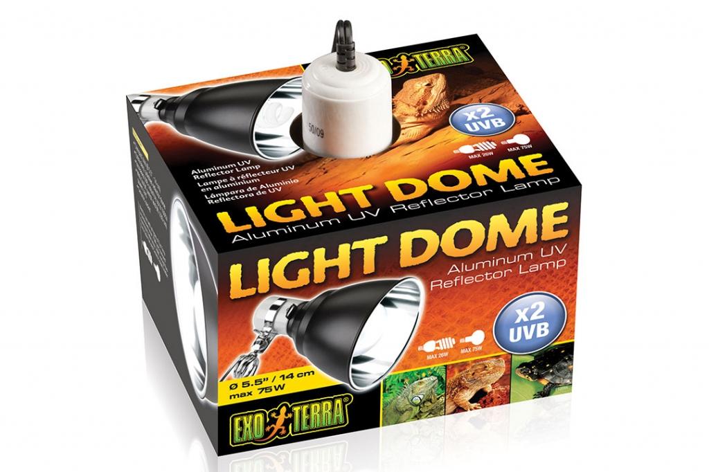 Экзо Терра Светильник навесной Light Dome для ламп накаливания, в ассортименте, Exo Terra
