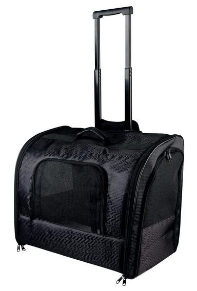 Трикси Переноска-тележка Elegance, 45*31*41 см, черная, Trixie