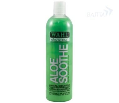 Вол Концентрированный шампунь с Алоэ для животных Aloe Soothe 1:15, в ассортименте, Wahl