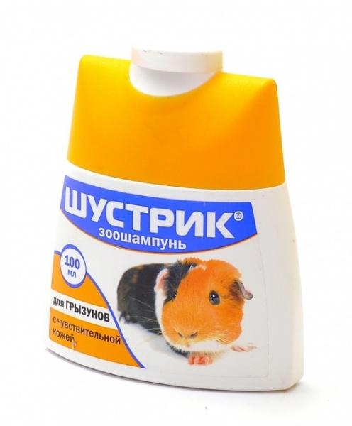 Шампунь для грызунов с чувствительной кожей, 100 мл, Агроветзащита