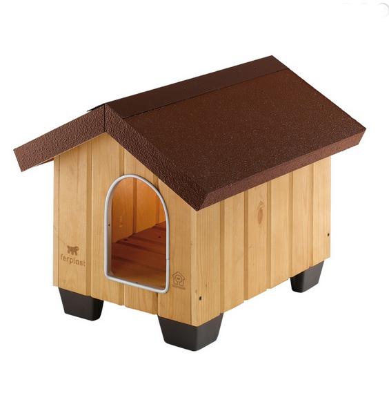 Ферпласт Будка деревянная Domus для собак, в ассортименте, Ferplast