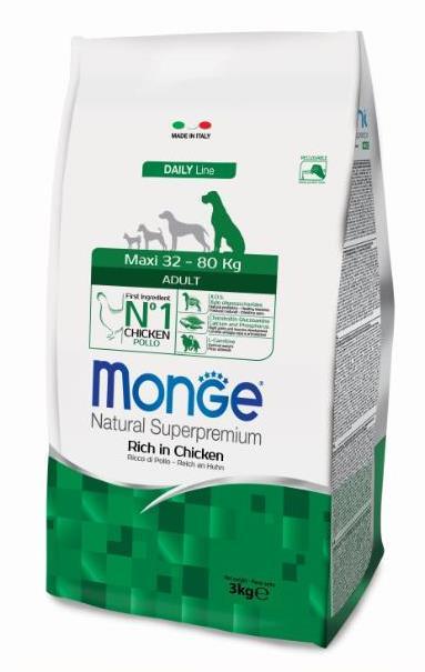 Монже Корм сухой для взрослых собак крупных пород, Dog Maxi, в ассортименте, Monge