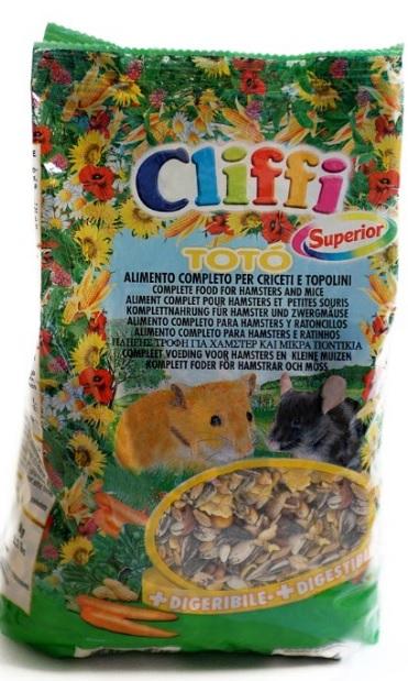 Клиффи Корм для хомяков Toto Superior for Hamsters, 900 г, Cliffi