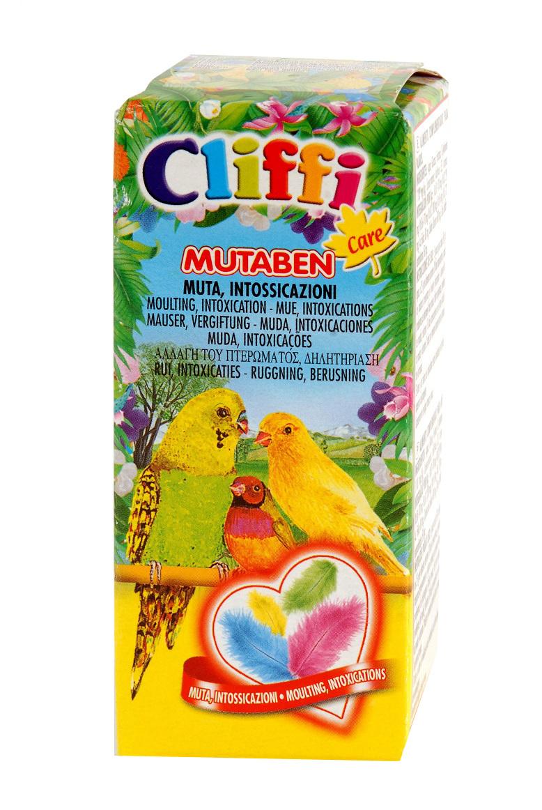 Клиффи Витамины для птиц в период линьки Mutaben, 25 мл, Cliffi