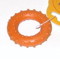 Игрушка Кольцо с шипами №4, винил, диаметр 10 см, Зооник