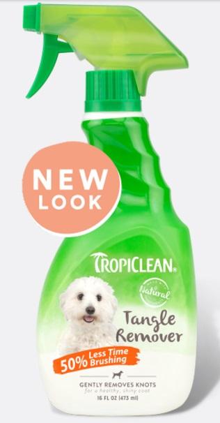 Тропиклин Средство от колтунов Tangle Remover для собак и кошек, 473 мл, Tropiclean