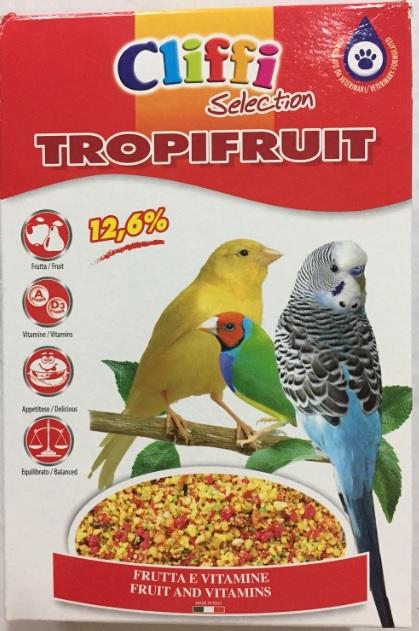 Клиффи Яичный корм для всех видов зерноядных птиц, 300 г, в ассортименте, Cliffi