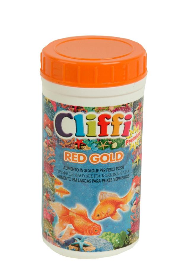 Клиффи Корм для золотых рыбок Red Gold, в ассортименте, Cliffi