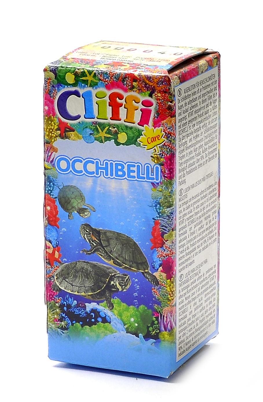 Клиффи Капли Occhibelli для глаз черепах, 25 мл, Cliffi