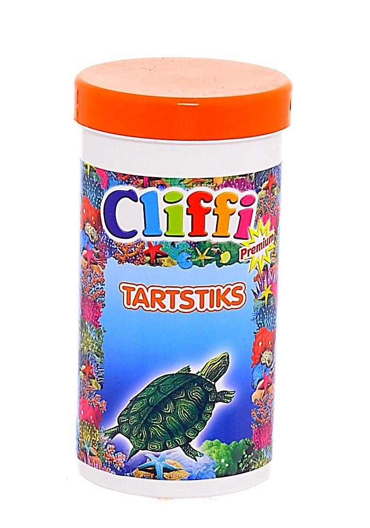 Клиффи Корм для черепах, а также насекомоядных животных и птиц, палочки Tartsticks, в ассортименте, Cliffi