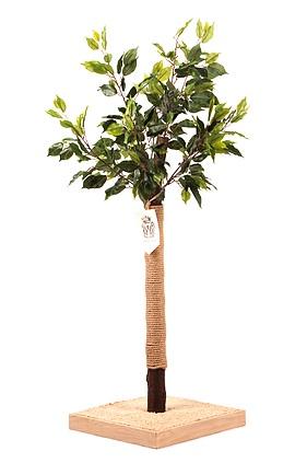 Дерево-когтеточка для кошек Paradise, 40*40*130 см, вес 6,2 кг, Россия