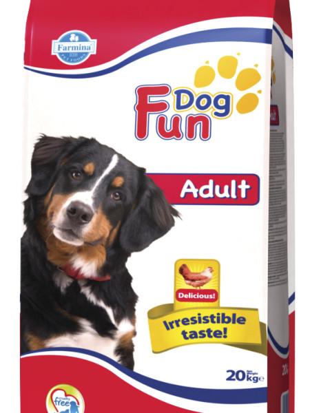 Фармина Корм сухой Fun Dog Adult для собак всех пород, 20 кг, Farmina