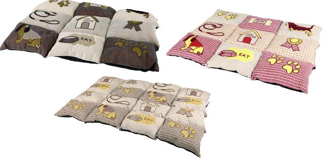 Трикси Подстилка Patchwork - тёплый лежак для холодных и жёстких мест, в ассортименте, Trixie