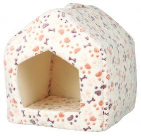 Трикси Домик-пещера Lingo, 32*42*32 см, белый/бежевый, в ассортименте, Trixie