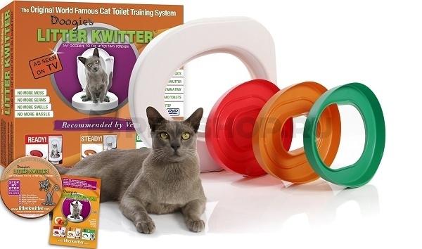 Фидекс Система приучения кошек к туалету (унитазу) Litter Kwitter, Feed-Ex