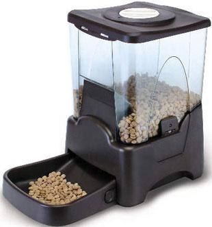 Фидекс Кормушка автоматическая PF5 с ЖК дисплеем, на 6-7 кг сухого корма, 26*36*45 см, Feed-Ex