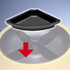 Фидекс Адаптер понижающий объем корма для автокормушек PF1 и PF2, Feed-Ex
