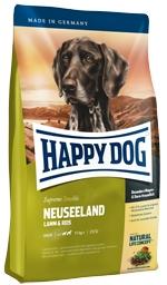 Корм Хеппи Дог сухой Суприм Neuseeland для взрослых собак весом от 11 кг с чувтсвительным пищеварением, Ягненок/Рис, в ассортименте, Happy Dog