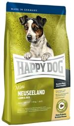 Корм Хеппи Дог сухой Суприм Neuseeland Mini для собак мелких пород с чувствительным пищеварением, Ягненок/Рис, 4 кг, Happy Dog